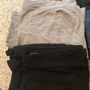 Set of 2 Danskin yoga pants, bootcut sized @L12/14